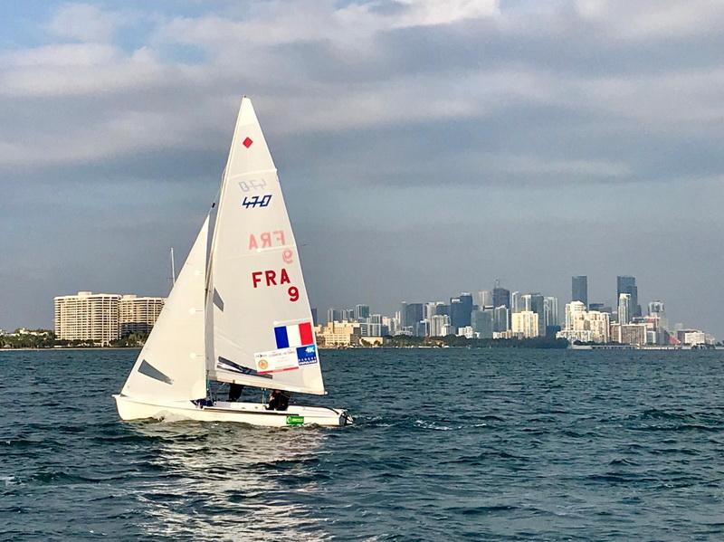Miami Championnat Nord americain  Camille Lecointre et Aloise Retornaz © @GildasPhilippe